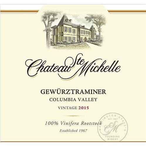 CHATEAU ST MICHELLE GEWURZTRAMINER -  750ML