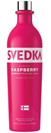 SVEDKA RASPBERRY -  1L