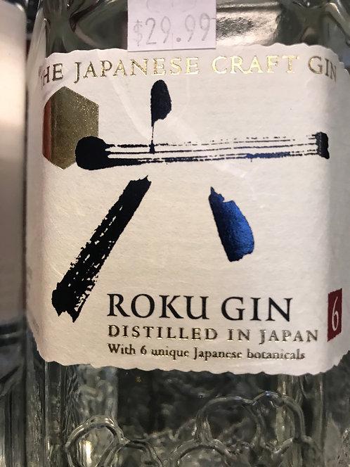 ROKU GIN -  750ML