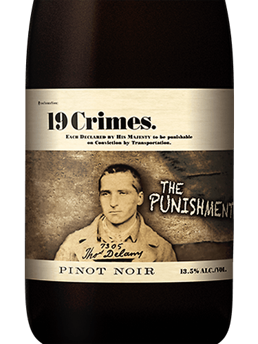 19 CRIMES PUNISHMENT PINOT NOIR -  750ML