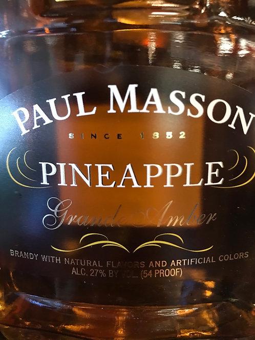 Paul Masson pineapple brandy 375ml