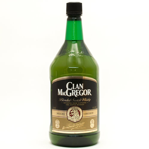 CLAN MACGREGOR SCOTCH -  1.75L