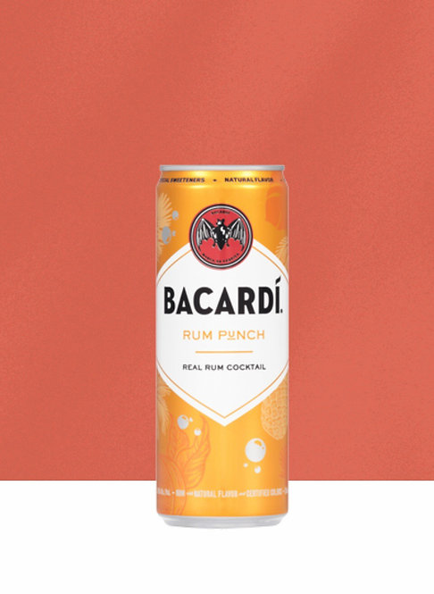 Bacardi RUM PUNCH Cans 355ml 4pk