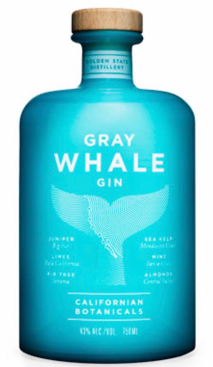 Gray whale botanical gin 750ml
