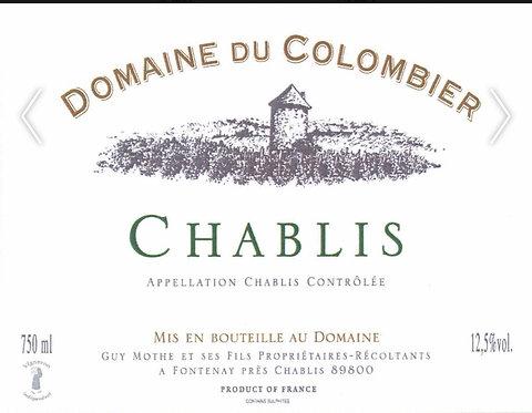 DOMAINE DU COLOMBIER PETIT CHABLIS -  750ML