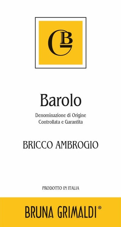 BRUNA GRIMALDI BRICCO AMBROGIO BAROLO 750ML