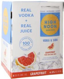 HIGH NOON GRAPEFRUIT CAN 335ml 4pack