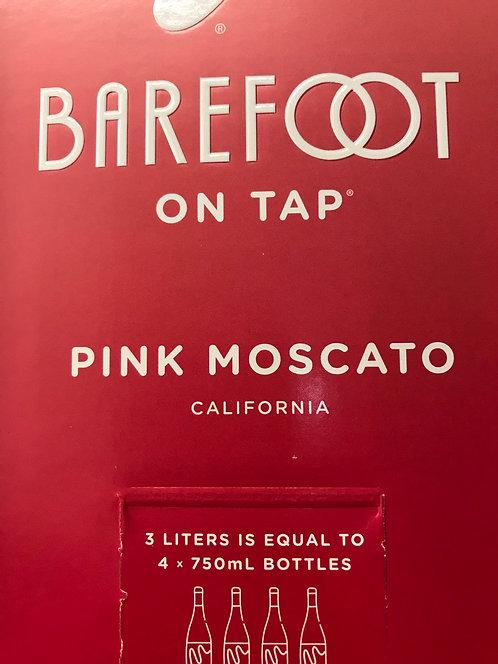 BAREFOOT BOX PINK MOSCATO 3LI