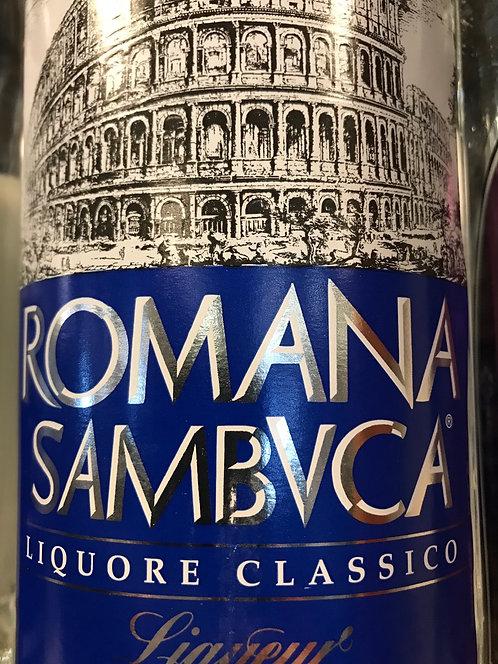 ROMANA BLUE SAMBUCA -  750ML
