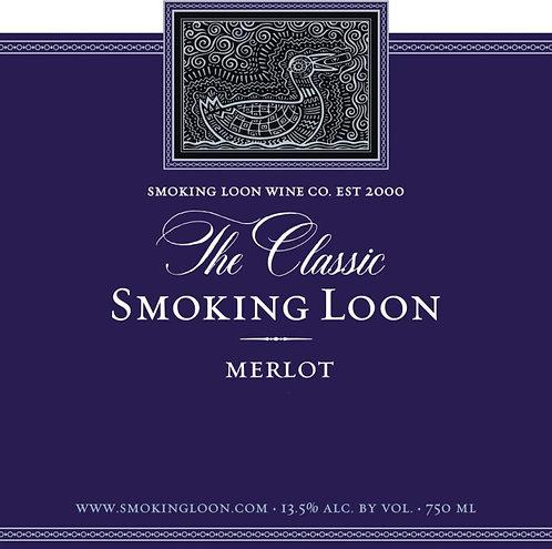 SMOKING LOON MERLOT -  750ML