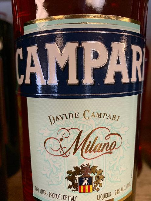 CAMPARI BITTERS -  1L