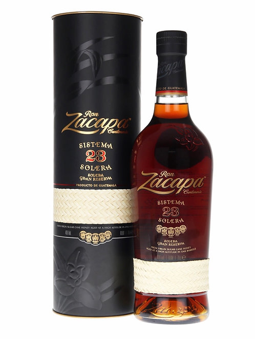 Ron Zacapa Centenario Sistema Solera 23 Rum 750ml