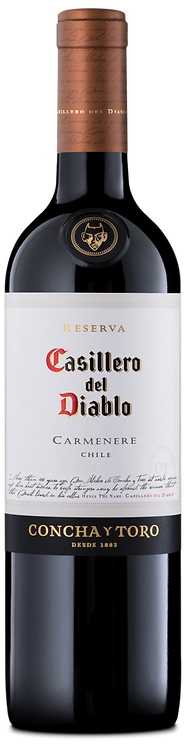 CONCHA Y TORO CASILLERO DEL DIABLO CARMENERE 750ML
