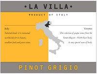 LA VILLA PINOT GRIGIO -  750ML