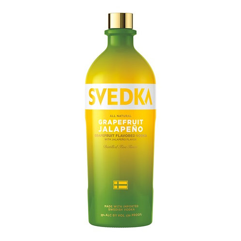 SVEDKA GRAPEFRUIT JALEPENO -  1.75L