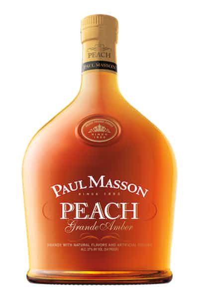 PAUL MASSON PEACH BRANDY -  750ML