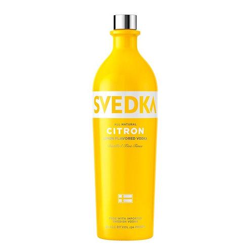 SVEDKA CITRON -  1.75L