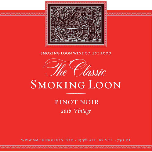 SMOKING LOON PINOT NOIR -  750ML