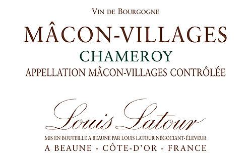 LOUIS LATOUR MACON VILLAGES CHAMEROY -  750ML