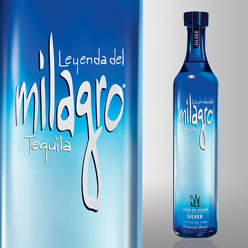 MILAGRO TEQUILA  SILVER -  750ML