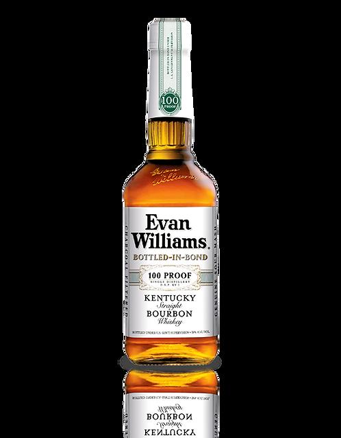 EVAN WILLIAMS WHITE 100 -  750ML