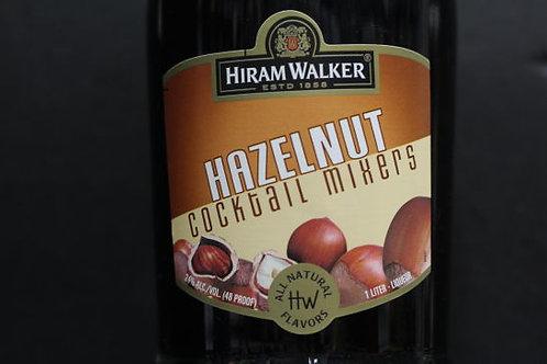 HIRAM WALKER HAZELNUT -  1L