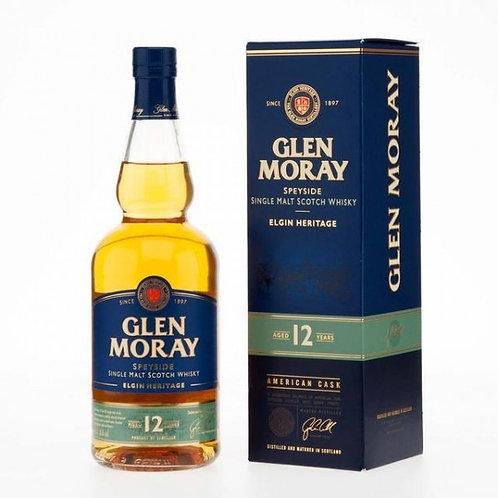 GLEN MORAY 12 YEAR 750ML