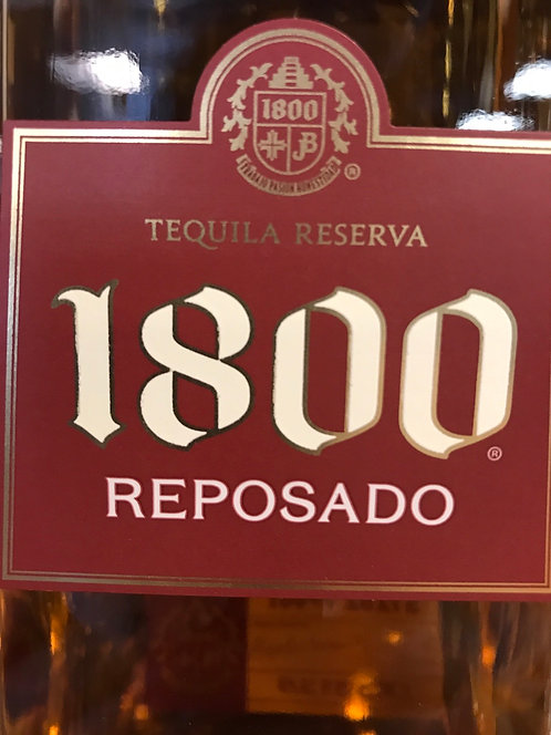 1800 TEQUILA REPOSADO -  1L