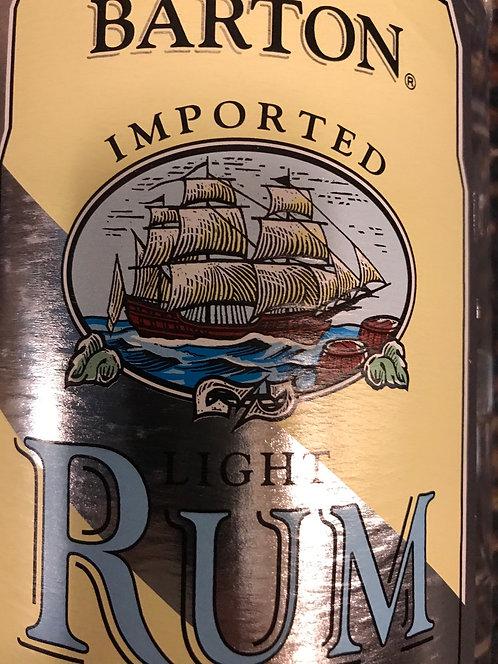 BARTON RUM LIGHT -  1.75L