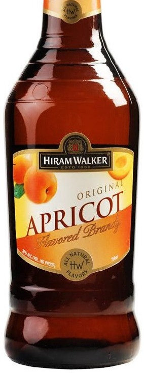 HIRAM WALKER APRICOT BRANDY -  1L