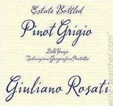 GIULIANO ROSATI PINOT GRIGIO 750ML
