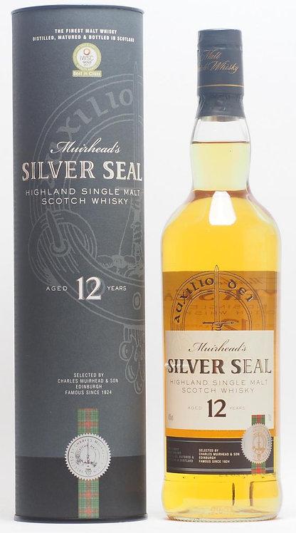 MUIRHEAD SILVER SEAL 12 YEAR OLD -  750ML