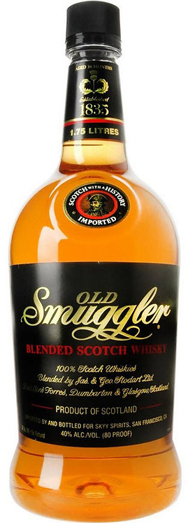 OLD SMUGGLER SCOTCH -  1.75L