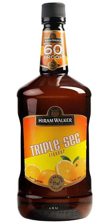 HIRAM WALKER TRIPLE SEC -  1L