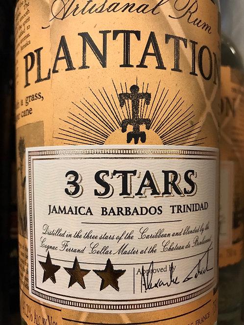 Plantation 3 stars Rum 1Li