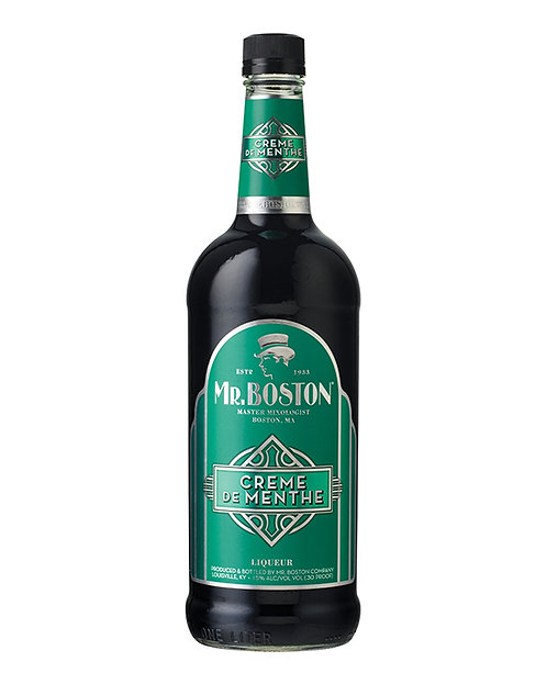 MR BOSTON GREEN MENTHE -  1L