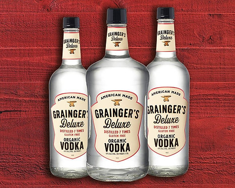 GRAINGERS ORGANIC VODKA -  1.75L
