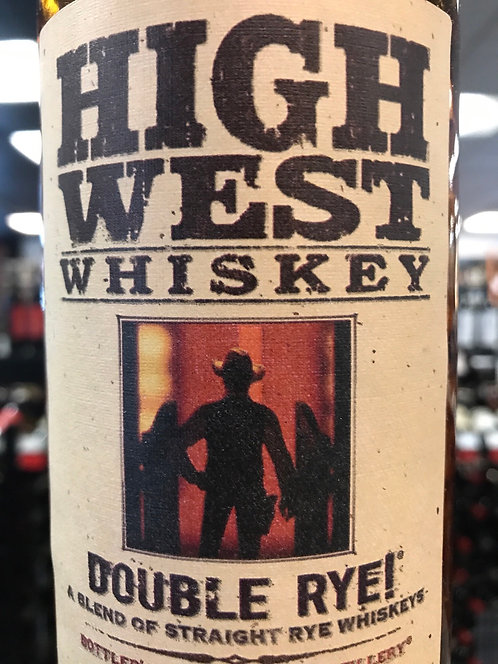 HIGH WEST DOUBLE RYE -  750ML