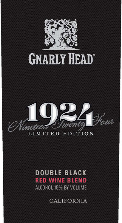 GNARLY HEAD1924 DOUBLE BLACK RED -  750ML