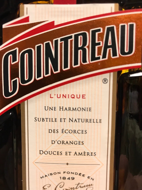 COINTREAU FRENCH LIQUEUR -  750ML