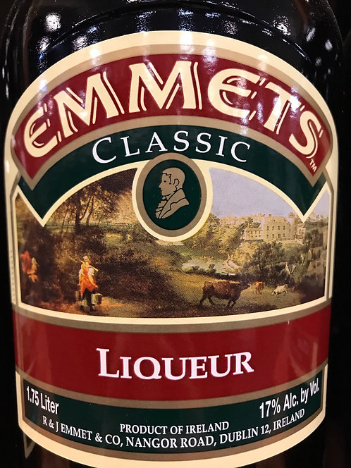 EMMETTS IRISH CREAM -  1.75L