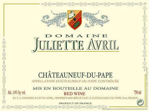 DOMAIN JULIETTE AVRIL CHATEAUNEUF DU PAPE -  750ML