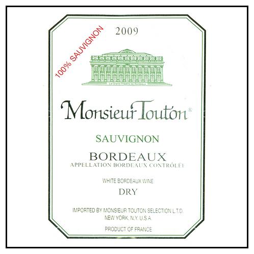 MONSIEUR TOUTON BORDEAUX SAUVIGNON -  1.5L