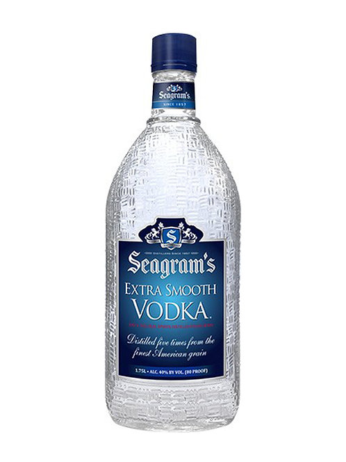 SEAGRAMS VODKA  -  1.75L