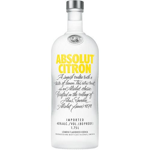 ABSOLUT CITRON -  1L