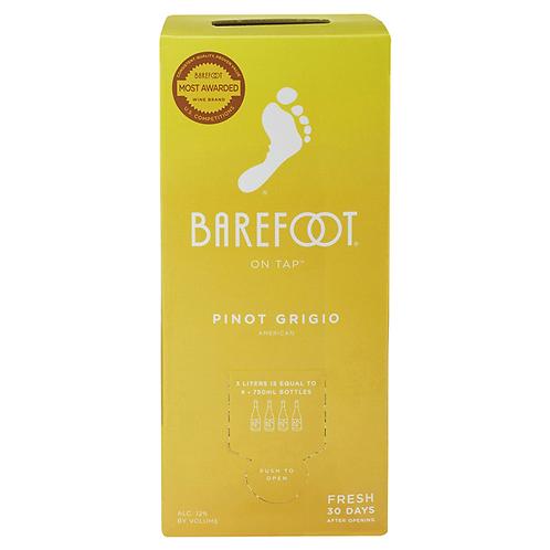 BAREFOOT P GRIGIO BOX -  3L