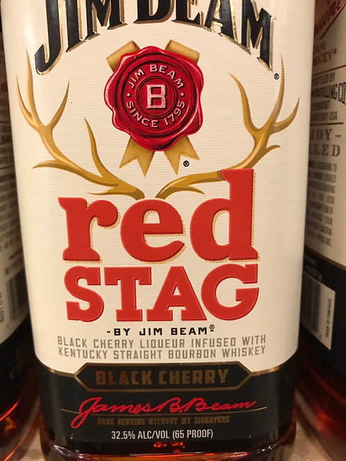 JIM BEAM RED STAG BOURBON  1LI