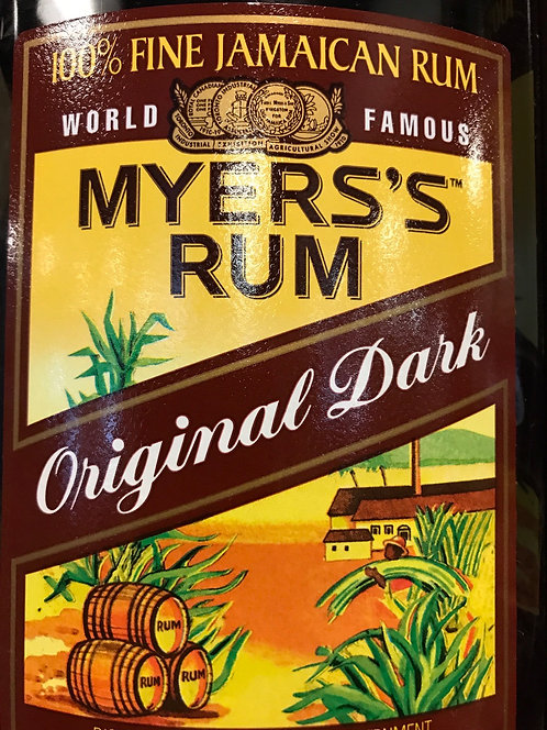 MYERS RUM DARK -  1L