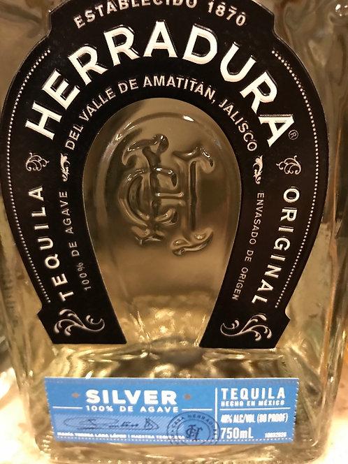 HERRADURA SILVER 750ML