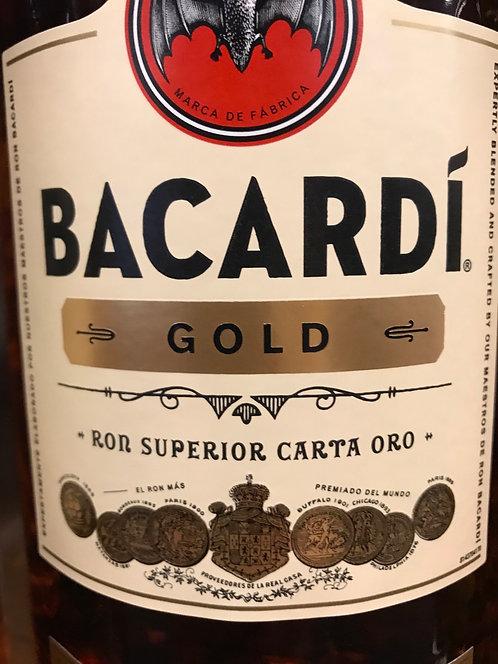 BACARDI RUM GOLD -  1L